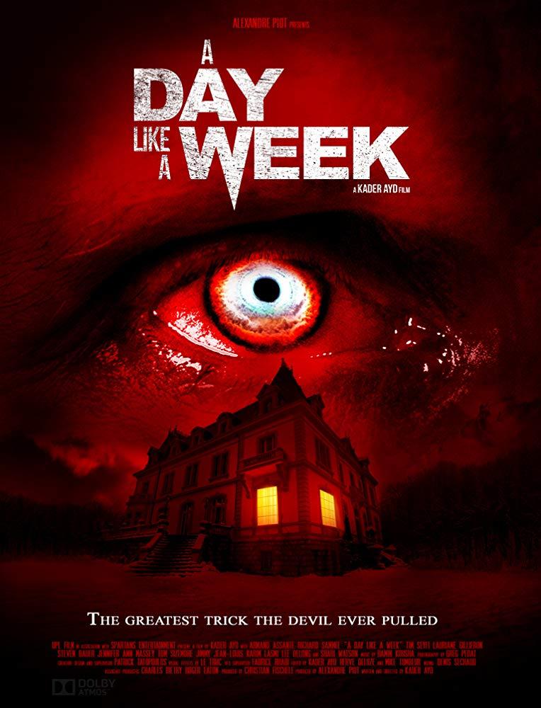 « A Day Like  A week » un film de «Kader Ayd » (année) Production : UPL Films, Spartans Entertainment