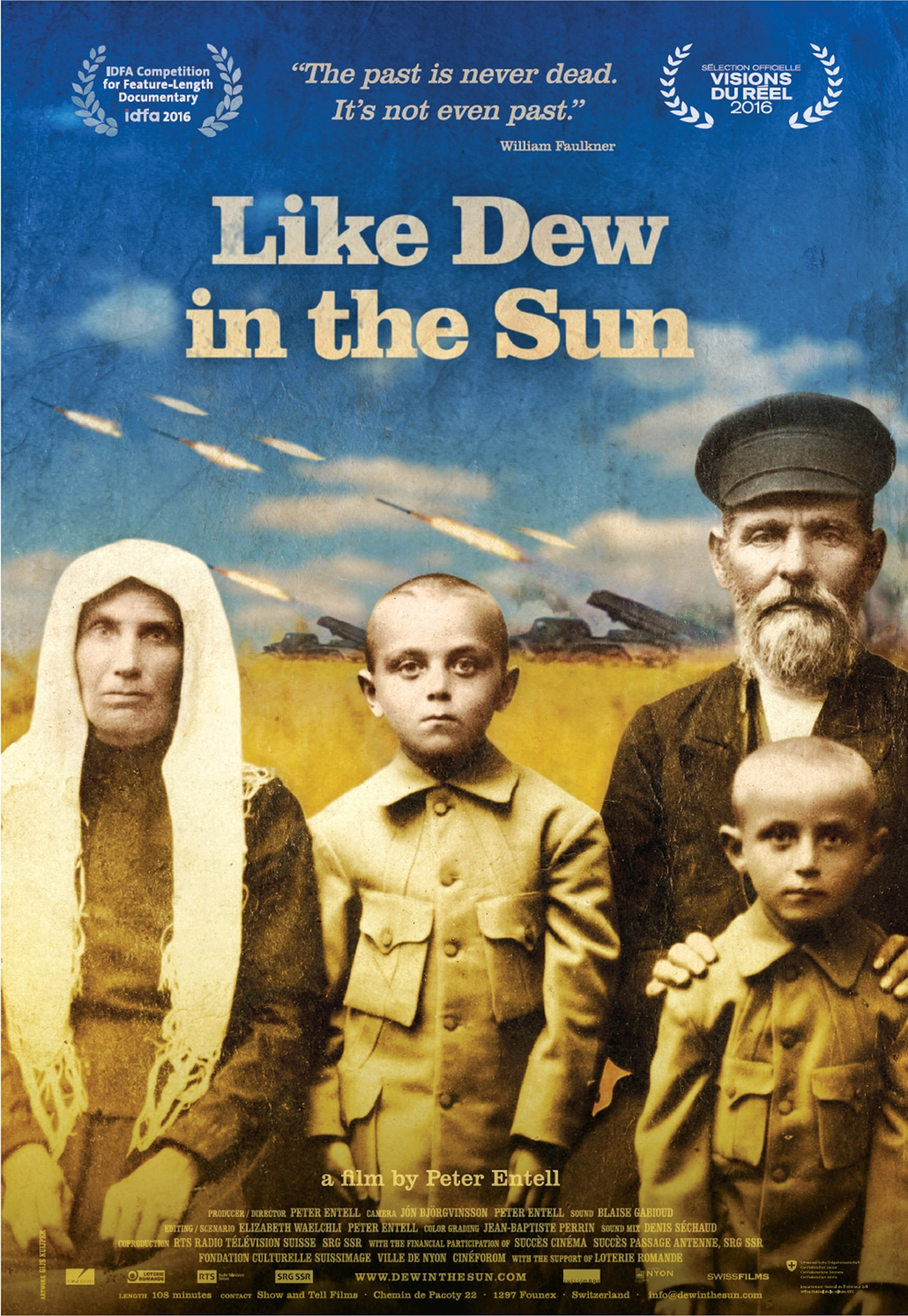 Like dew in the sunun film de Peter Entell (2016)Show and Tell Films BANDE ANNONCE